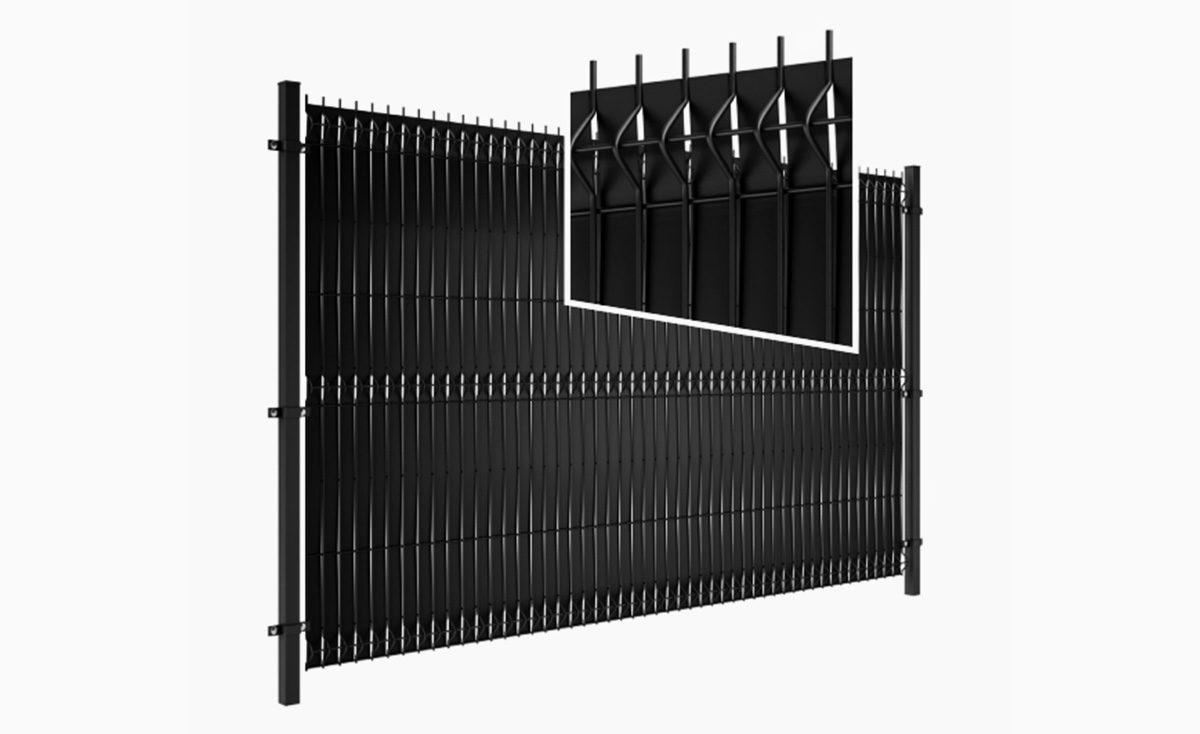 Przesłona do ogrodzeń panelowych - Steel Protect+3